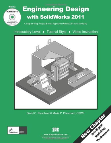 9781585036233: Engineering Design with SolidWorks 2011 and Multimedia CD
