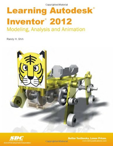 9781585036936: Learning Autodesk Inventor 2012