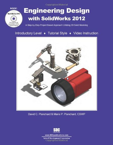 9781585036974: Engineering Design with SolidWorks 2012