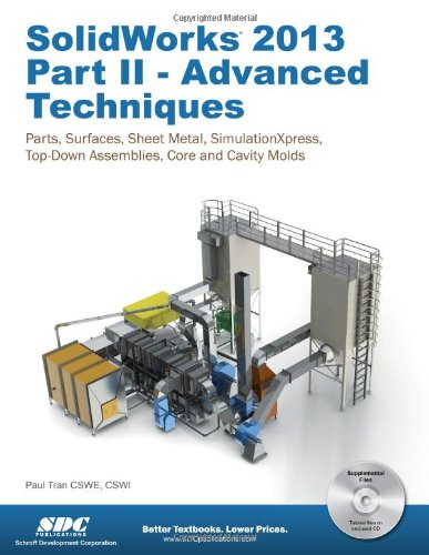 9781585037704: SolidWorks 2013 Part II - Advanced Techniques