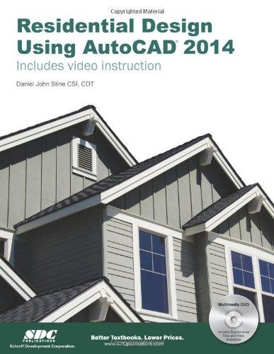 9781585037933: Residential Design Using AutoCAD 2014