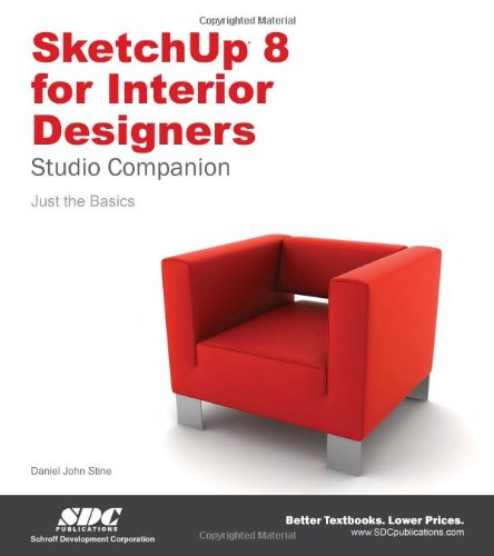 9781585038169: SketchUp 8 for Interior Designers