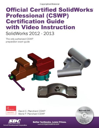 9781585038244: Official Certified SolidWorks Professional (CSWP) Certification Guide with Video Instruction