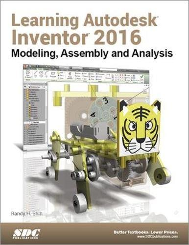 9781585039661: Learning Autodesk Inventor 2016