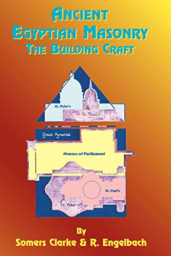 9781585090594: Ancient Egyptian Masonry: The Building Craft