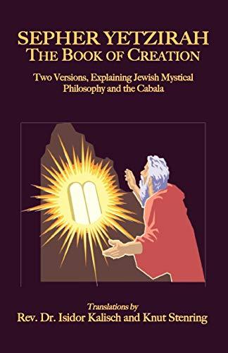 Sepher Yetzirah: The Book of Creation (Paperback)