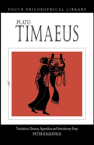 9781585100071: Plato: Timaeus (Focus Philosophical Library)