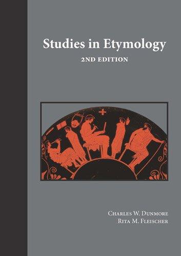 9781585100125: Studies in Etymology