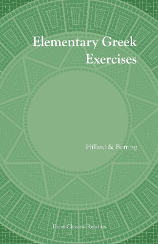 9781585100170: Elementary Greek Exercises (Focus Classical Reprints)