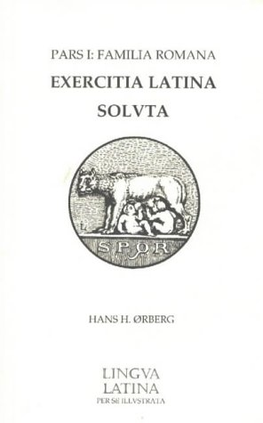 9781585100682: Lingua Latina Answer Key for Exercitia Latina 1: Instructor's Set