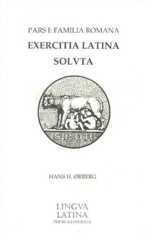 9781585100682: Lingua Latina Answer Key for Exercitia Latina 1