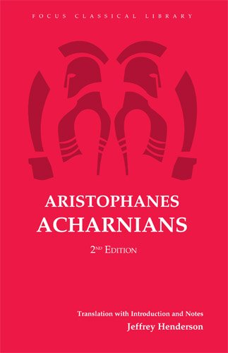 9781585100873: Aristophanes: Acharnians (Focus Classical Library)