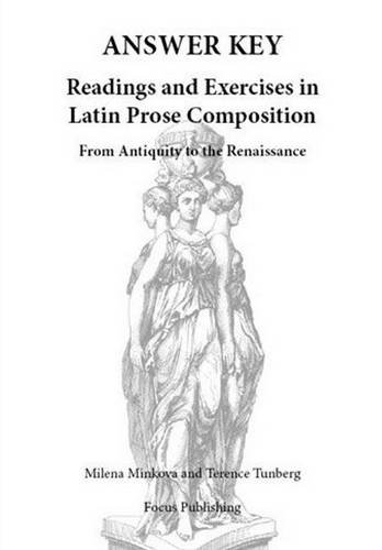 9781585100927: Readings & Exercises in Latin Prose Composition: Answer Key