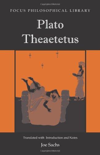 Plato: Theaetetus (Focus Philosophical Library): Plato; Translator-Joe Sachs