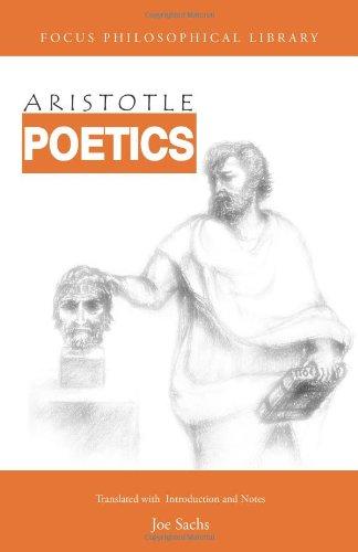 Aristotle: Poetics: Aristotle; Translator-Joe Sachs