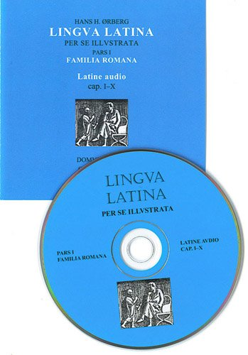 9781585101924: Lingua Latina: Latine Audio (Audio CD ONLY) Chapters 1-10 only from