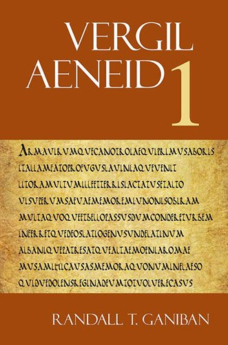 9781585102259: Aeneid 1 (The Focus Vergil Aeneid Commentaries) (Latin and English Edition)