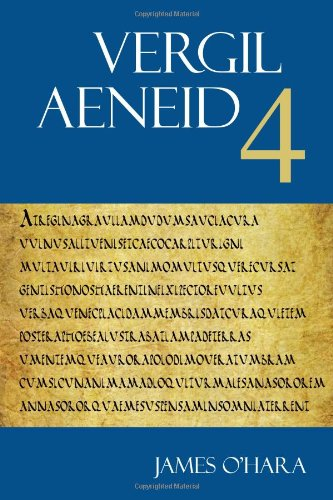 9781585102280: Aeneid 4 (The Focus Vergil Aeneid Commentaries)