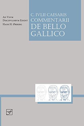 9781585102327: Lingua Latina - Caesaris Commentarii de Bello Gallico