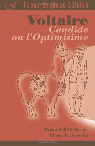 9781585102471: Candide, ou l'Optimisime (Focus Student Edition) (French Edition)