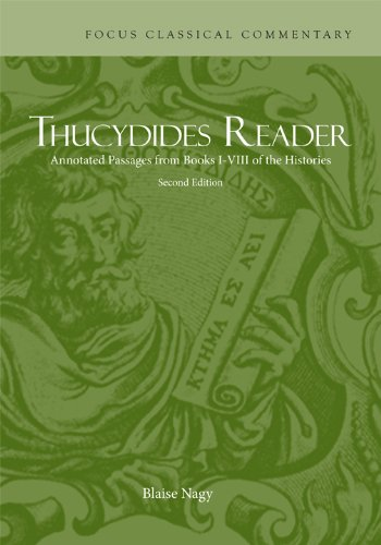 9781585104123: Thucydides Reader (Focus Classical Commentary)