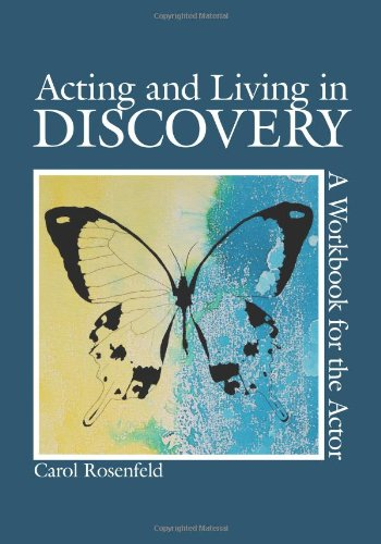 9781585107032: Acting and Living in Discovery: A Workbook for the Actor
