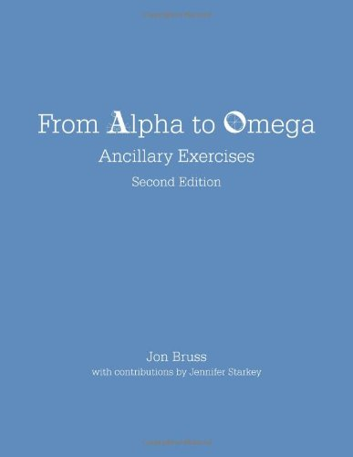9781585107100: From Alpha to Omega: Ancillary Exercises