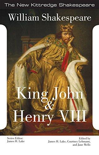 9781585107568: King John and King Henry VIII (New Kittredge Shakespeare)