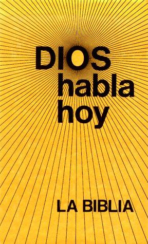 9781585160358: Dios Habla Hoy Labiblia (#103348) (Spanish Edition)