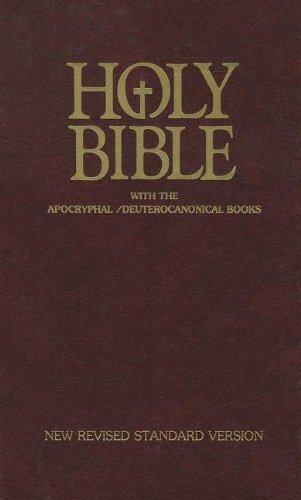 9781585160396: Holy Bible: New Revised Standard - Catholic Edition