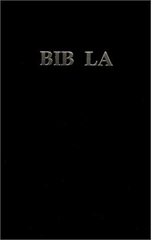 Haitian Bible Vinyl Cover Black Sbh 2007 (French Edition): American Bible Society