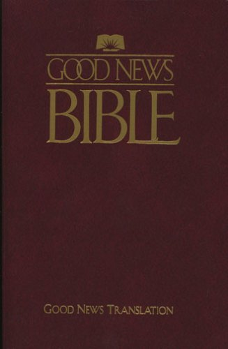 Good News Bible: English Version- Flex Burgundy: Amer Bible Society
