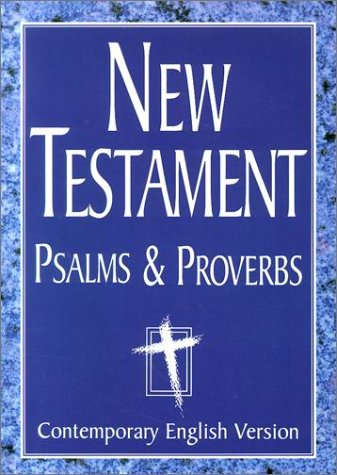 Extra Large Print New Testament with Psalms and Proverbs (1585162388) by American Bible Society