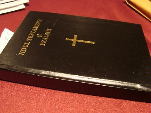 9781585165094: Romanian New Testament And Psalms Bible