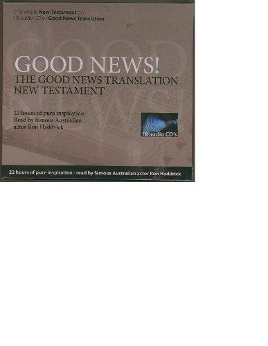 9781585168866: Good News Translation Audio New Testament: 18-CD Set