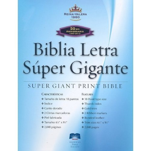 RVR90 Super Large Print (Spanish Edition) (158516898X) by American Bible Society