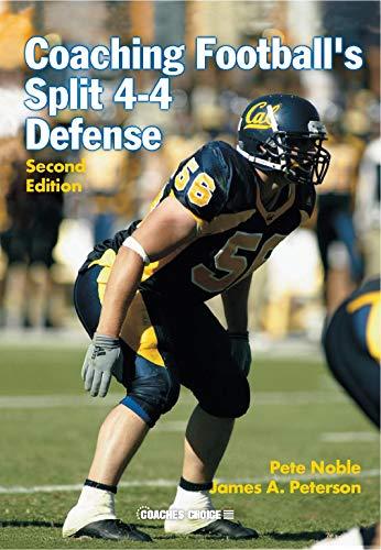 9781585188703: Coaching Football's Split 4-4 Defense (2nd Ed.)