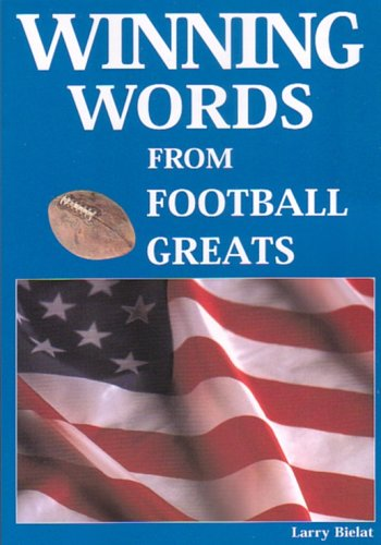 9781585189175: Winning Words From Football Greats