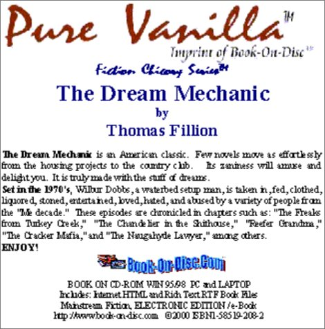 9781585192083: The Dream Mechanic