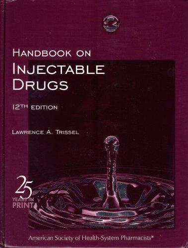 9781585280414: Handbook on Injectable Drugs
