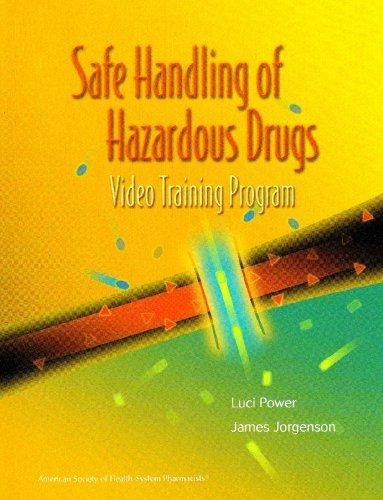 SAFE HANDLING OF HAZARDOUS DRUGS PDF