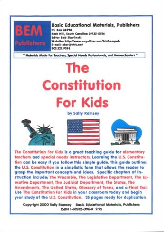 9781585320967: The Constitution For Kids