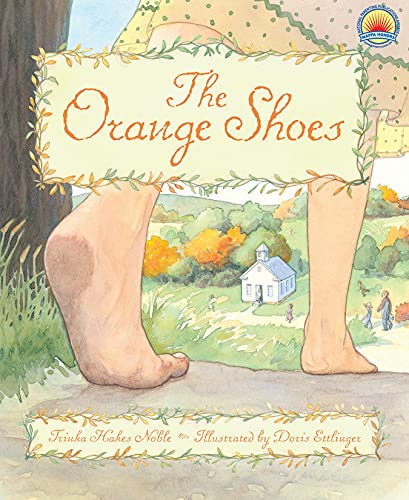 The Orange Shoes 9781585362776 Delly Porter has a happy life. She needs new shoes, but doesn't really mind because she loves the soft, silky feel of the dirt road beneath her bare feet. She's a good artist, too, even if she has to make her own art supplies. And she loves her schoolteacher, Miss Violet, who lets her help in the classroom. Life only looks brighter when Miss Violet announces the school will have a Shoebox Social to help raise funds for new art materials. But when what should be a festive occasion is threatened by prejudice and cruelty, Delly finds out that one must stay true to oneself to successfully navigate life's joys and sorrows. From Trinka Hakes Noble, the author of The Scarlet Stockings Spy and The Last Brother, comes the story of a young girl who learns the most precious things in life are not measured in dollars and cents but by the warmth of one's heart. And that truth, beauty, and love are in the eye of the beholder.