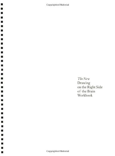 9781585421954: The New Drawing on the Right Side of the Brain Workbook: Guided Practice in the Five Basic Skills of Drawing