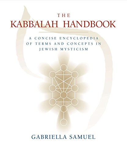 9781585425600: Kabbalah Handbook: A Concise Encyclopedia of Terms and Concepts in Jewish Mysticism