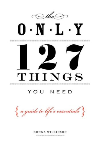 9781585426225: The Only 127 Things You Need