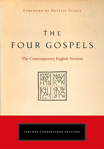 9781585426775: Four Gospels: The Contemporary English Version (Tarcher Cornerstone Editions)