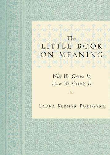 9781585427154: The Little Book on Meaning: Why We Crave It, How We Create It