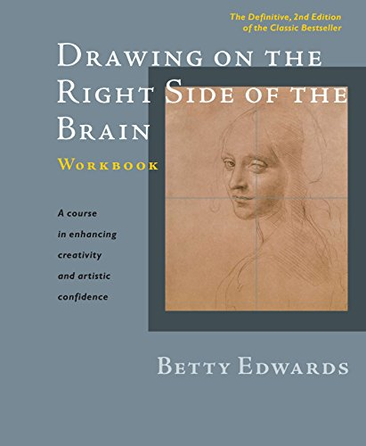 9781585429226: Drawing on the Right Side of the Brain Workbook: The Definitive, Updated 2nd Edition