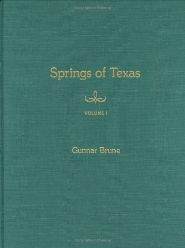 9781585441969: Springs of Texas: Volume I (Texas A&M University Agriculture Series)